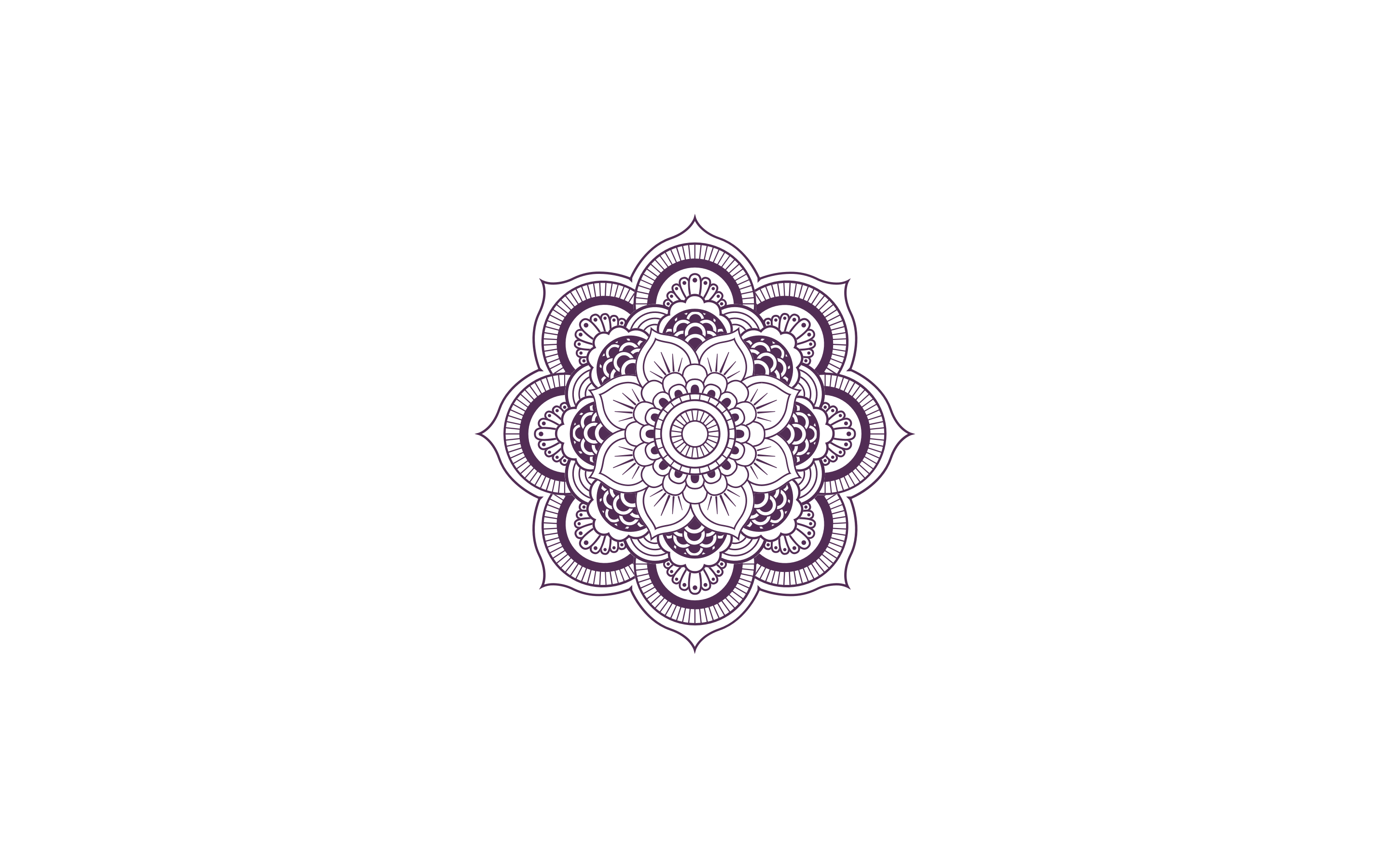 Purple Mandala Logo