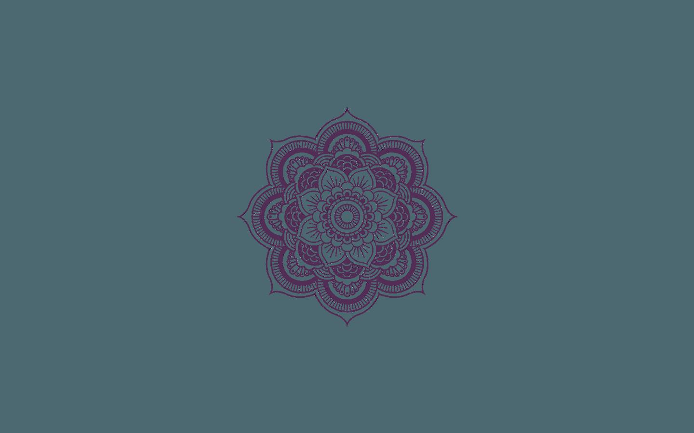 Purple Mandala Mobile